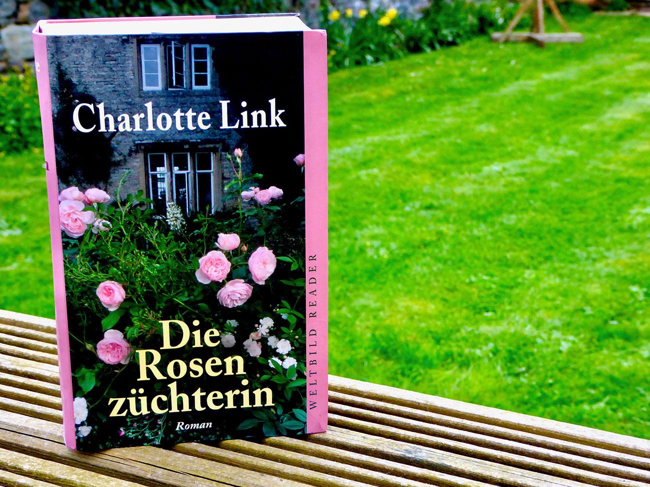 'Die Rosenzüchterin' - a romantic thriller by Charlotte Link, set in Guernsey