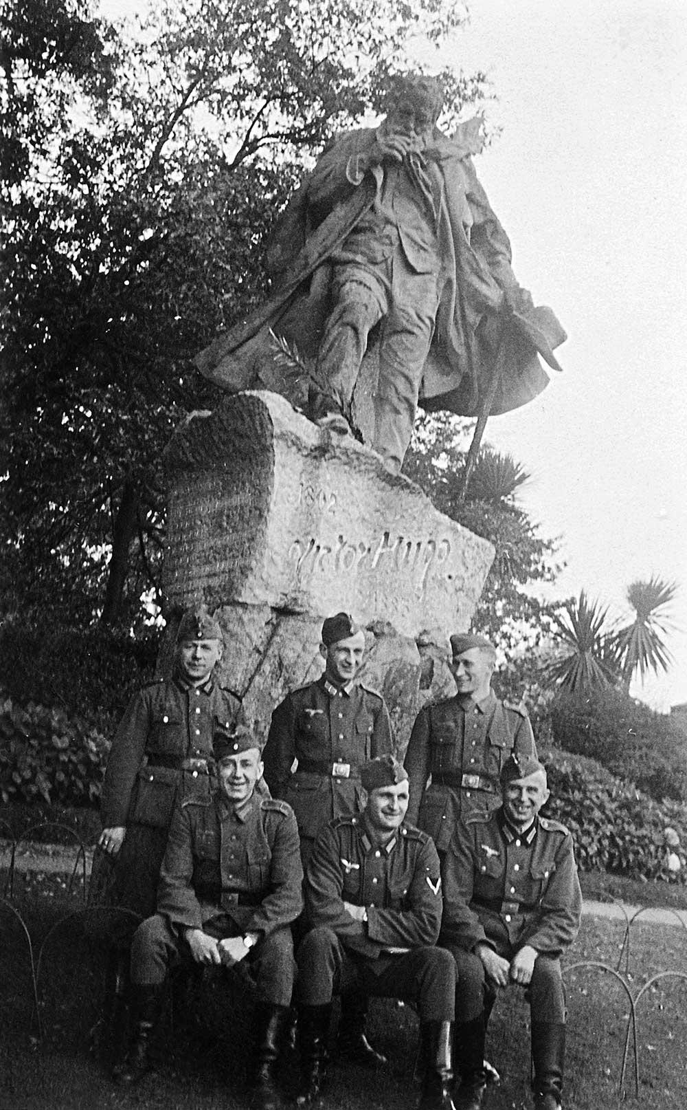 Denkmal von Victor Hugo